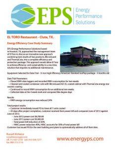 El Toro-Clute Unit condenser coil and cabinet El Toro Restaurant_1540312345691
