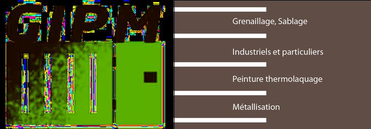 GIPM – Grenaillage Industriel Peinture Métallisation logo